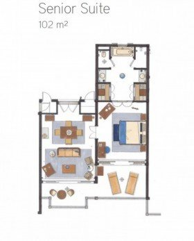 Senior Suite Sea View (102 m²)