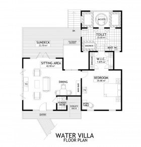 Water Villas (116 m2) - pouze do 31.10.2019