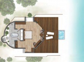 Lagoon villa with plunge pool (110 m2)
