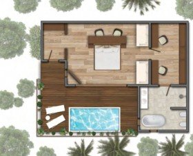 Garden Villa with Pool (75 m2)