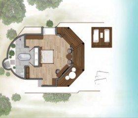 Lagoon Prestige Pavillion Beach Villa (110 m2)