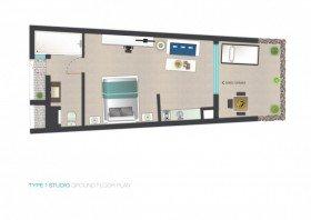 1-3 guests Studio (51 m²)