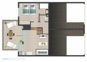 1 - 4 guests Apartment (78,5 m²)