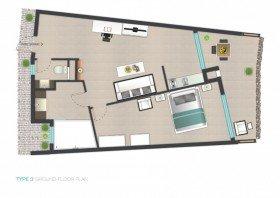 1-2 guests Studios (47,5 m²)