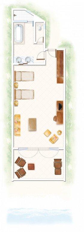Deluxe Ground Floor (60 m²)
