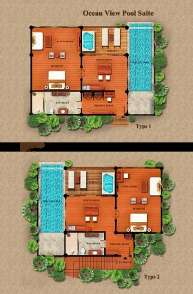 Ocean View Pool Suite