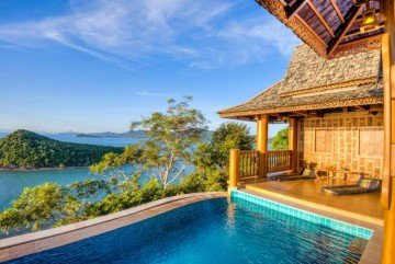 Family Two Bedroom Ocean Pool Villa
