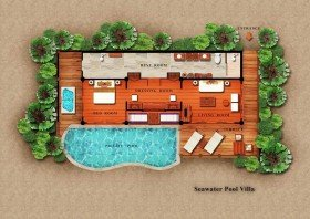 Seawater Pool Villa