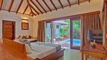 Garden Villa with Pool (Kihaa Maldives)
