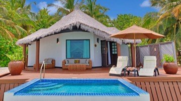 Lagoon villa with plunge pool (Kihaa Maldives)