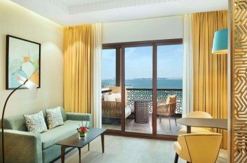 Two Queen Bed Bay Club Room with Sea View