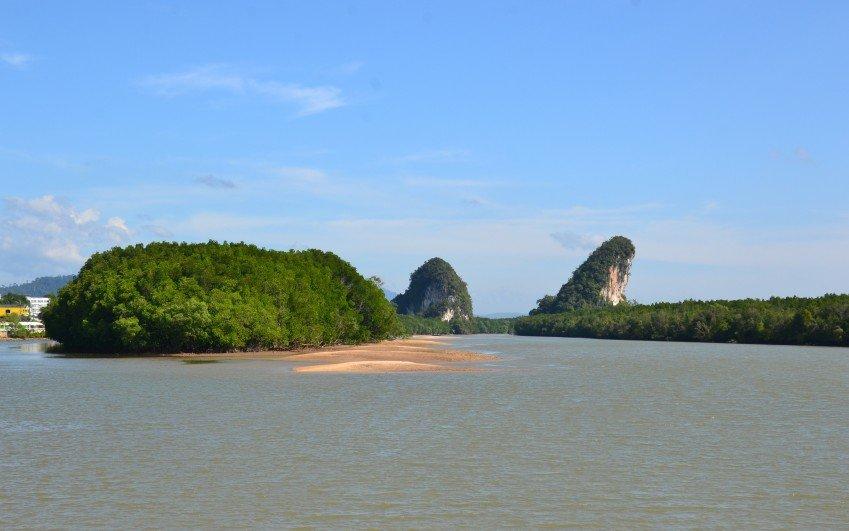 Putování po jihozápadním Thajsku