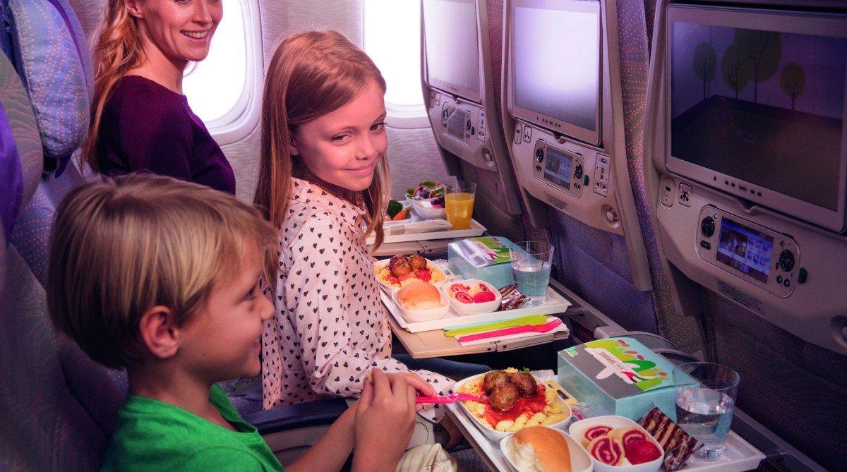 Užijte si pohodlný let s Emirates