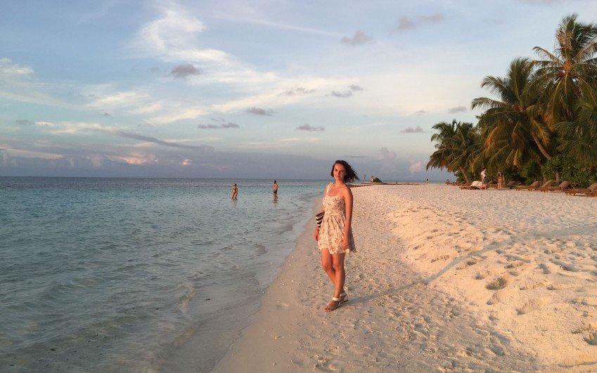 Foto z cesty na Maledivy, 2015 - Iveta Mlejnská