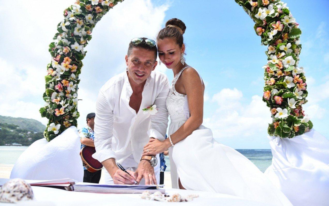 Svadba na Seychelách